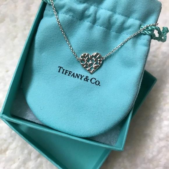 4a65e6e64 Tiffany & Co Olive Leaf and Heart Bracelet. M_5a972e92daa8f6d53f3cd5ea.  Other Jewelry ...